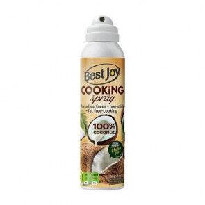 Best Joy Cooking Sprays Aérosol de Cuisine à l'Huile de Coco Best Joy 250ml