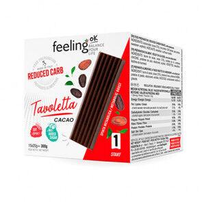 FeelingOk Tablette de chocolat FeelingOk Tavoletta 15 unités (15x20g) 300 g