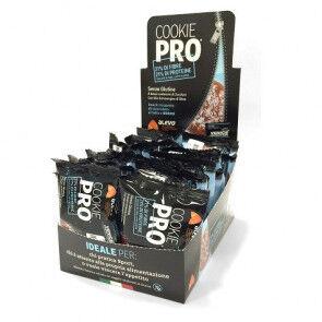 Alevo Pack de 24 Cookie Pro Recouvert de Chocolat au Lait et Noix de Coco Alevo 13,6 g