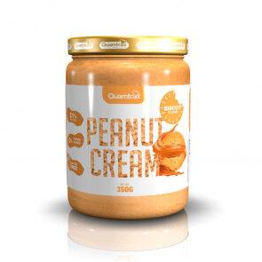 Quamtrax Nutrition Beurre de cacahuète aromatisé au biscuit Quamtrax 350 g