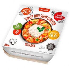 Quamtrax Nutrition Poulet Aigre-doux avec Riz Quamtrax 300 g