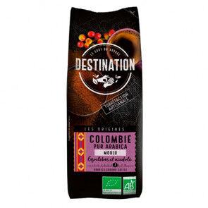 Destination Bio Café Moulu Colombie 100% Arabica Bio Destination 250g