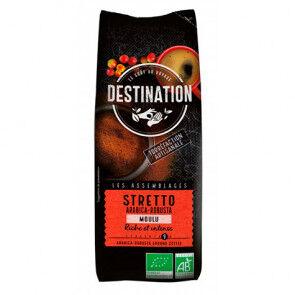 Destination Bio Café Moulu Stretto Italien Bio Destination 250 g