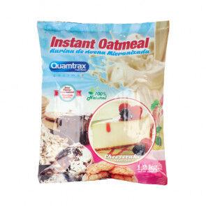 Quamtrax Nutrition Flocons d'avoine aromatisés au gâteau au fromage Quamtrax 1,2 kg