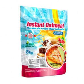 Quamtrax Nutrition Flocons d'avoine aromatisés au tarte aux pommes Quamtrax 2 kg