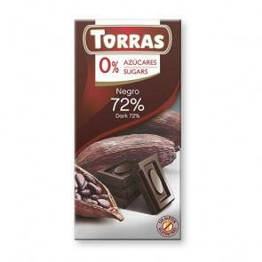 Torras Chocolate Negro 72% Cacao Torras 75 g