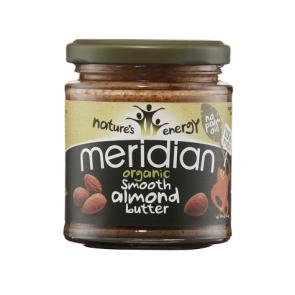 Meridian Foods Beurre d'Amande Doux Meridian 170 g