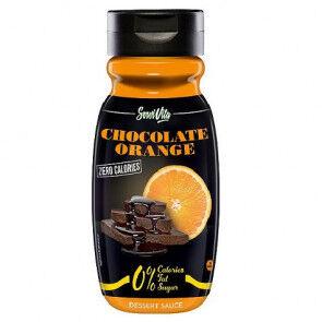 Servivita Sirop au chocolat et à l'orange 0% Servivita 320 ml