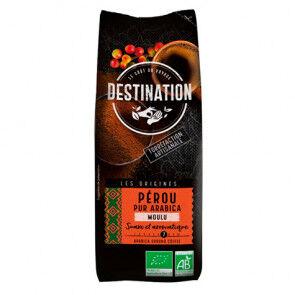 Destination Bio Café Moulu Pérou 100% Arabica Bio Destination 250g