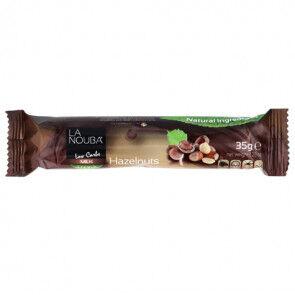 LaNouba Barre Low-Carb au Chocolat au Lait et Noisettes au Stevia  LaNouba 35 g