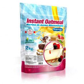 Quamtrax Nutrition Flocons d'avoine aromatisés au tarte au fromage Quamtrax 2 kg