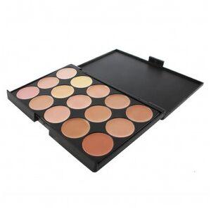 OutletSalud Paleta 15 Colores Neutros de Maquillaje Corrector - Publicité