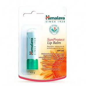 Himalaya Herbals Baume à lèvres avec protection solaire SPF50 Himalaya 4,5 g - Publicité