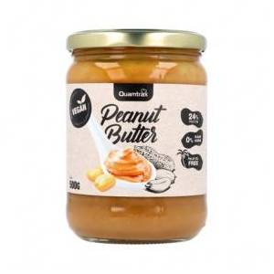 Quamtrax Nutrition Beurre de Cacahuète Végétalien Quamtrax 500 g - Publicité