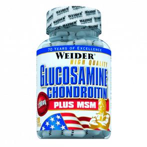 Weider Glucosamine Chondroitin plus MSM 1200 mg 120 Capsules