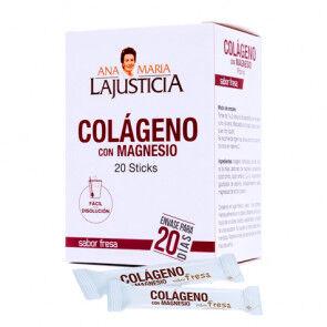 Ana María Lajusticia Collagène avec Magnésium Goût Fraise Ana María Lajusticia 20 Sticks
