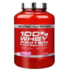 Scitec Nutrition 100% Whey Professional Scitec Nutrition Fraise 2350 g