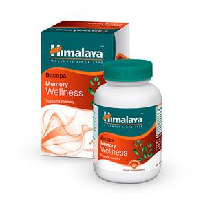 Himalaya Herbals Bacopa Himalaya bien-être de la mémoire 60 gélules