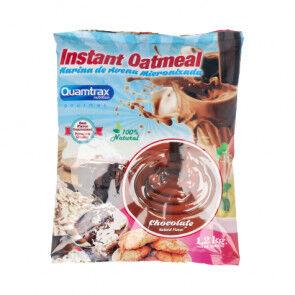 Quamtrax Nutrition Flocons d'avoine aromatisés au chocolat Quamtrax 1,2 kg