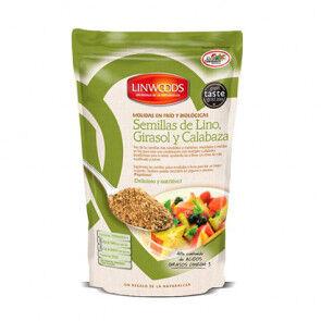 Linwoods Graines biologiques de tournesol et de citrouille Linwoods 200 g