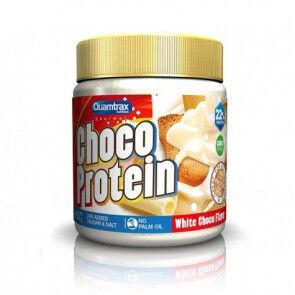 Quamtrax Nutrition Pâte à tartiner au Chocolat Blanc Choco Protein Quamtrax 250 g
