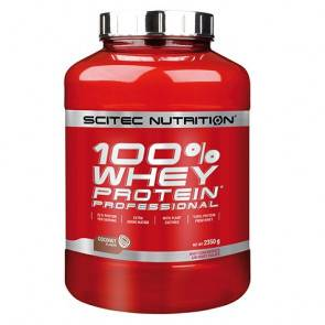 Scitec Nutrition 100% Whey Professional Scitec Nutrition Noix de coco 2350 g