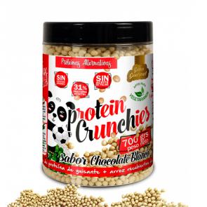 Protella Protein Crunchies goût Chocolat Blanc Protella 700 g