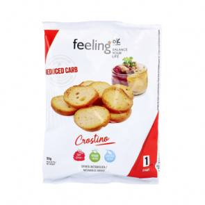 FeelingOk Croûtons FeelingOk Crostino Start Huile d'Olive 50 g
