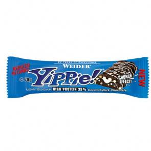 Weider Low Carb Yippie! Bar Noix de coco-Chocolat noir Weider 70g