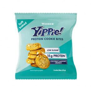 Weider Mini biscuits aux protéines Weider Yippie! arôme Amande croustillante et noix de coco 50g
