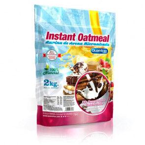 Quamtrax Nutrition Flocons d'avoine aromatisés au Capuccino Quamtrax 2 kg