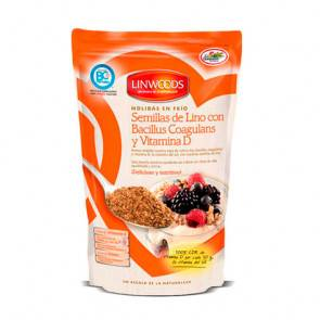 Linwoods Graines de lin Linwoods avec Bacillus Coagulans et vitamine D dans Cold Grounds 200 g