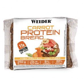Weider Pain de Mie Protéiné à la Carotte et Graines Low-Carb 250 g Weider