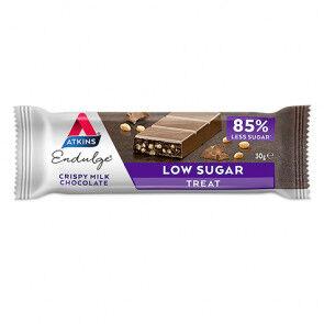 Atkins Endulge Bar Saveur Chocolat au Lait Croustillant Atkins 30 g