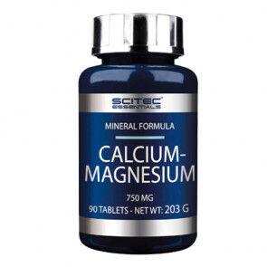 Scitec Nutrition Calcium et magnésium Scitec Essentials 90 gélules