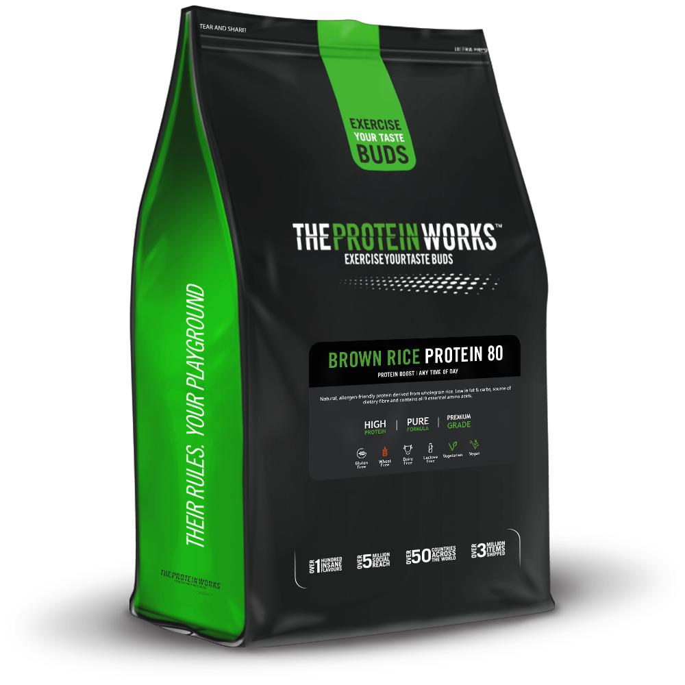 The Protein Works™ Protéine De Riz Brun 80