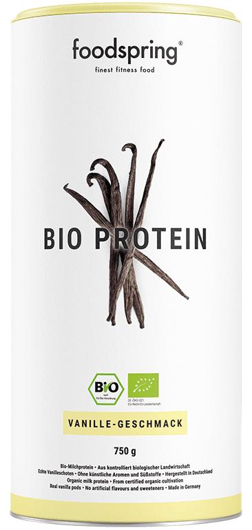 Protéine bio vanille