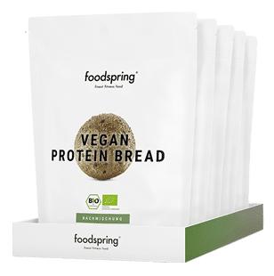 Pain protéiné vegan en paquet de5