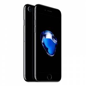 APPLE iPhone 7 32 Go jet black reconditionné grade ECO + Coque - Publicité