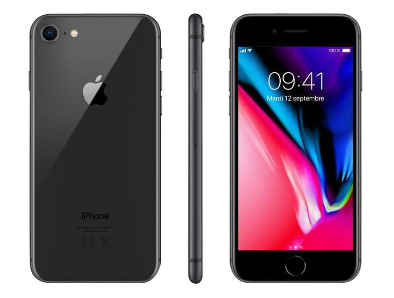 APPLE Iphone 8 64 Go Sideral Grey RECONDITIONNÉ GRADE A+