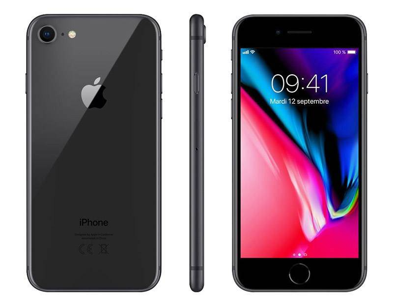 APPLE IPHONE 8 64 GO SIDERAL GREY RECONDITIONNÉ GRADE A+