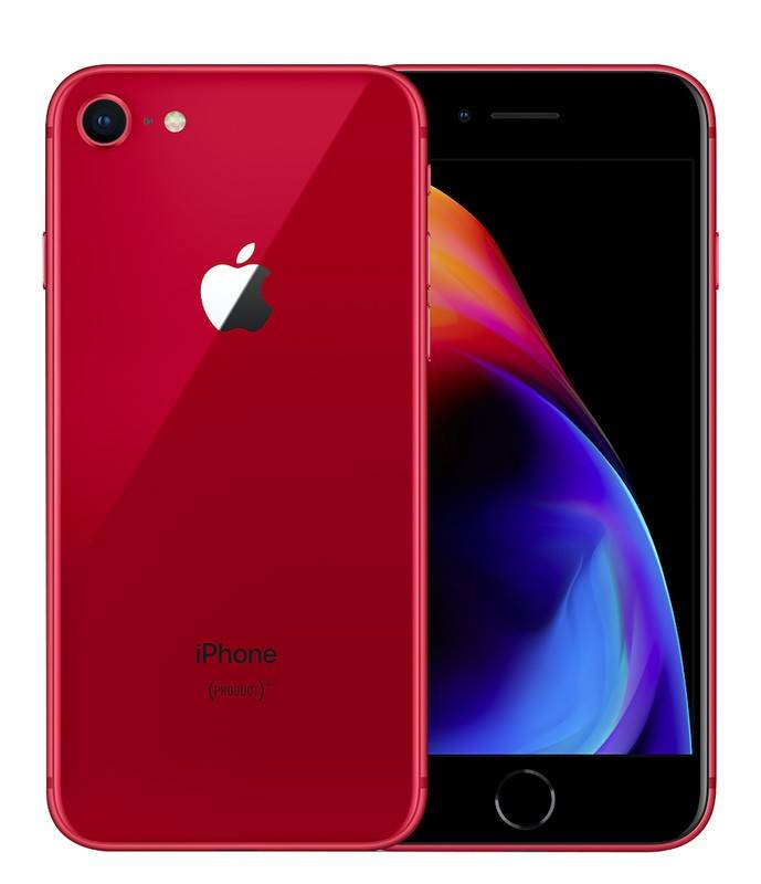 APPLE IPHONE 8 64 GO RED RECONDITIONNÉ GRADE A+