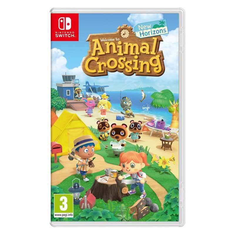 NINTENDO Jeu vidéo Animal Crossing New Horizons