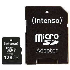 INTENSO Carte Micro-SD intenso 128Go UHS-I + adaptateur - Publicité