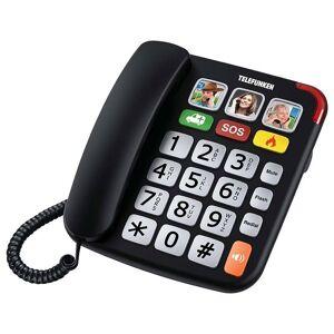 TELEFUNKEN Tél. TELEFUNKEN TF 701 - Filaire solo - Publicité