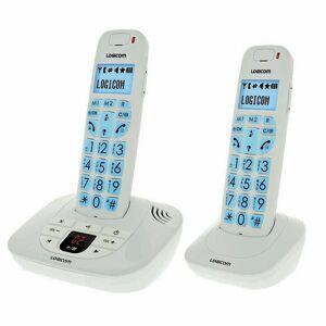 LOGICOM Téléphone duo avec répondeur LOGICOM CONFORT 255 BLANC FR - Publicité