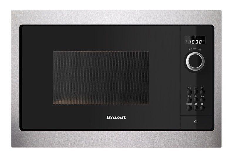 BRANDT Micro-ondes encastrable monofonction BRANDT BMS 6115 X