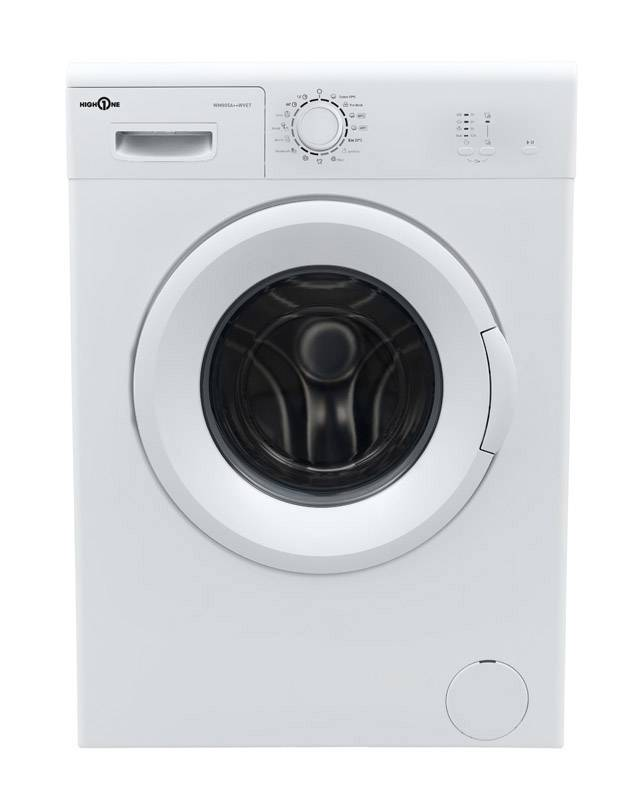 HIGH ONE Lave linge hublot 5 kg HIGH ONE WM 805 A++ WVET