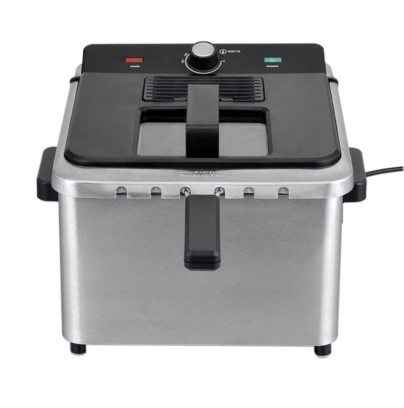 COSYLIFE Friteuse COSYLIFE CL-FR5X2 inox 5L