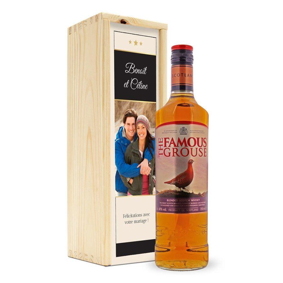 YourSurprise Whisky - The Famous Grouse - avec coffret personnalisé